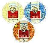 Nin Jiom Herbal Candy- 3 Tins (Mint, Original, Tangerine-Lemon)