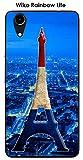 ONOZO Paris Tower Design Case For Wiko Rainbow, Lite Blue