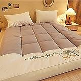 NNLX Futon colchón, Suave Espesado Plegable colchón japonés colchón Suave espesante futón colchón colchón de...