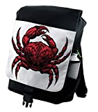 Ambesonne Astrology Backpack, Cancer Zodiac Sign, Durable All-Purpose Bag