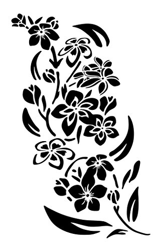Plantillas de pintura hawaiana de plumeria de 35,5 cm, 3 unidades ...