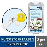 1-2-3REPAIR Pintura para plástico Descolorido | Tinte para plástico, Blanco