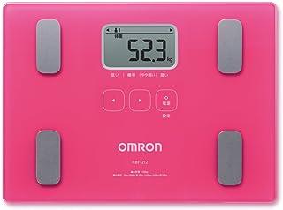 オムロン 体重体組成計 カラダスキャン HBF-212-PK ピンク