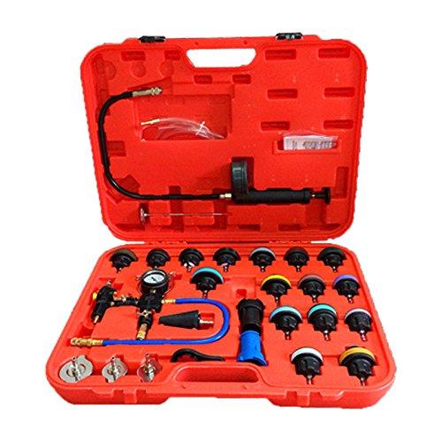 huigou HG® Drucktester Kühler Druck Prüfung Abdrückgerät Kühlsystem Tester abdrücken Prüfgerät Kühlsystemtester Werkzeug