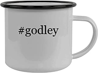 #godley - Stainless Steel Hashtag 12oz Camping Mug, Black