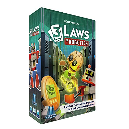 3 Laws of Robotics - Card Game