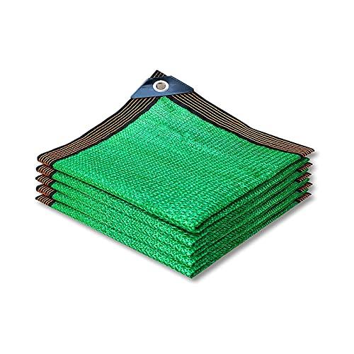 LLCY 90% de protección Solar Tela de Sombra Anti-UV Terraza al Aire Libre Jardín Pérgola Decoración Verde Shade Net Malla de sombreo (Color : Green, Size : 2x8m)