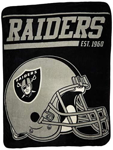 Northwest NFL Oakland Raiders 40 Yard Dash Decke