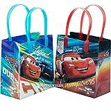 Disney Car Mcqueen Lightning 12 bolsas de regalo reutilizables de alta calidad para fiestas de 6 pulgadas