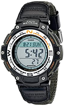 watch with digital compass