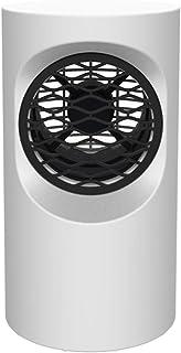 Cajolg Calefactor Portatil,Protección de Seguridad múltiple Fast Heater Handy Calentador,Cronotermostato Calefaccion Eléctrico,Blanco