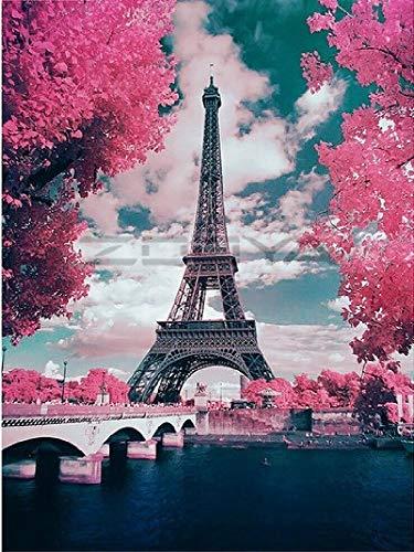 Rompecabezas Adultos 1000 Piezas,Puzzle Rompecabezas para Niños, Juguete De Regalo Ideal, La Mejor Decoración para El Hogar De Bricolaje-Torre Eiffel