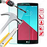 Bytelectro - Protector Pantalla CRISTAL TEMPLADO Premium LG G4 H815