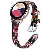 KIMILAR Pelle Cinturino Compatibile con Samsung Galaxy Active/Active 2, Compatibile con Samsung Galaxy Watch 42mm, Compatibile con Garmin Vivoactive 3, Compatibile con Huawei Watch GT 2 / Watch 2