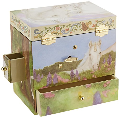 Enchantmints Unicorn Music Jewelry Box 7