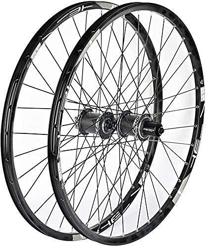 VTDOUQ Juego de Ruedas de Bicicleta 26/27.5/29 Pulgadas llanta de Bicicleta de montaña Freno de Disco Rueda de Bicicleta híbrida de liberación rápida 8 9 10 Cassette de 11 velocidades