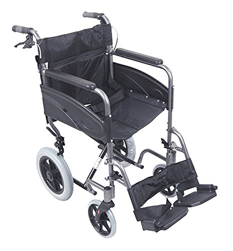 Aidapt Compact Transport Aluminium Wheelchair (Eligible for VAT relief in the UK)