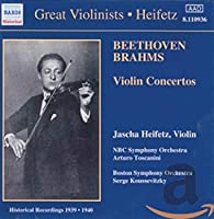 Jascha Heifetz: Plays Beethoven/Brahms