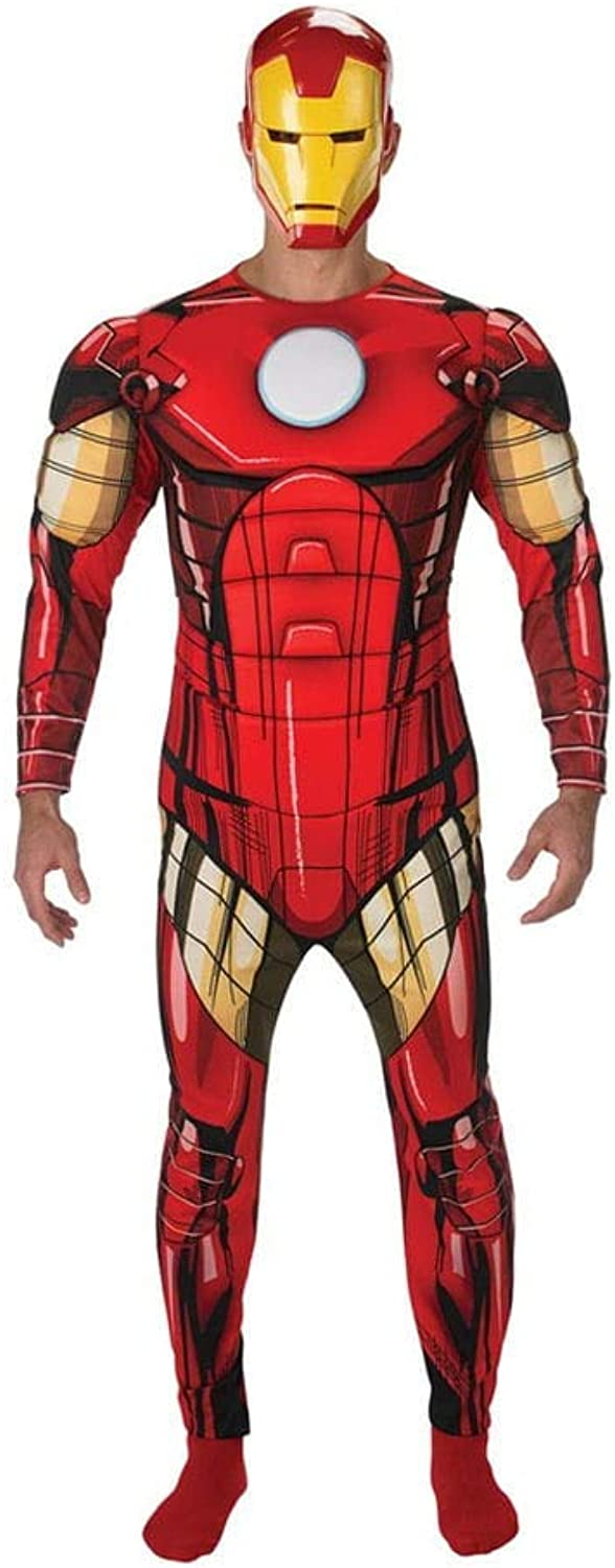HorrorShop Iron Man Deluxe Costume L