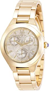 Invicta Women's Analogue Quartz Watch with Stainless Steel Strap 30683