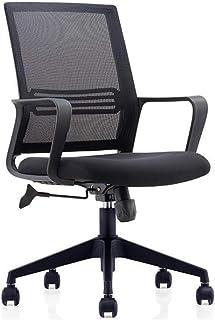 Ergonomiczne krzesło biurowe wyściełane krzesło komputerowe, zakrzywione oparcie i siedzenie tkaniny, spohing obrotowy krz...