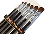 Magic Touches Making Life Magical Artist Paint Brushes Red Sable...