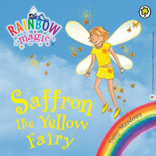 Rainbow Magic: The Rainbow Fairies 3: Saffron the Yellow Fairy audiobook cover art