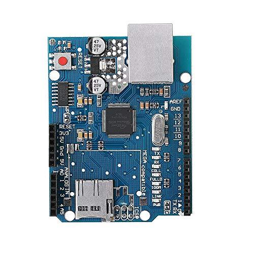 YiWu Ranura Ethernet Escudo Módulo W5100 Tarjeta Micro SD for Arduino UNO Mega 2560