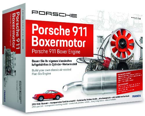 Franzis Porsche 911 Boxer Engine Model Kit - Porsche Museum Edition