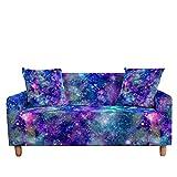 WXQY Funda de sofá elástica Funda de sofá Galaxy, Esquina seccional en Forma de L Funda de sofá de protección de Silla A6 1 Plaza