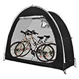 AiQueen Bike Tent Foldable Bike Storage Shed Waterproof Porable Bicycle Storage Cover Shelter with Window for Outdoor,Garden,Camping and Hiking