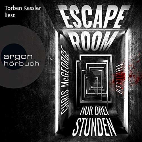 Escape Room     Nur drei Stunden              By:                                                                                                                                 Chris McGeorge                               Narrated by:                                                                                                                                 Torben Kessler                      Length: 10 hrs and 23 mins     1 rating     Overall 1.0