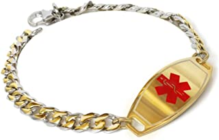 Best childs gold identity bracelet Reviews