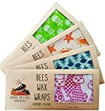 Hoopoe on a Hill Beeswax Wraps(Quirky Cat Print)
