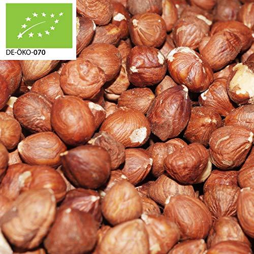 (20,99€/kg) 1000g Bio Haselnüsse Naturbelassen   1 kg   Roh   ganze Nüsse in Premium Qualität   ohne Zusätze 100% Naturbelassen   Haselnusskerne   kompostierbare Verpackung   DE-ÖKO-070 - STAYUNG