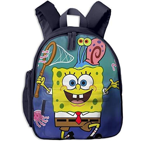 Bob Esponja capturas pulpo imprimir mochilas escolares para niñas niños niños escuela primaria bolsas libro al aire libre Daypack