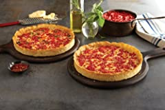 2 (9 in) Lou Malnati's Chicago-Style Deep Dish Pizzas Made from scratch PLEASE REVIEW SHIPPING INFO PAGE FOR SHIPPING DETAILS 100% Satisfaction Guaranteed Packages ship the next available MONDAY, TUESDAY, or WEDNESDAY and arrive within 2 DAYS of ship...
