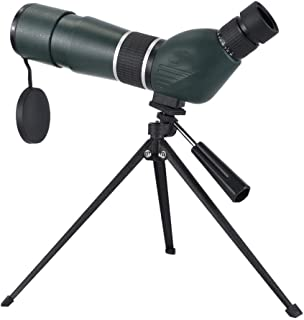 15-45x60 HD Spotting Scope with Night Vision Telescope with BAK4 45 Degree Angled Eyepiece with Tripod and Phone Adapter a...