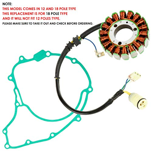 Caltric Stator & Gasket Compatible With Honda Trx300 Trx-300 Fourtrax 300 1996-2000