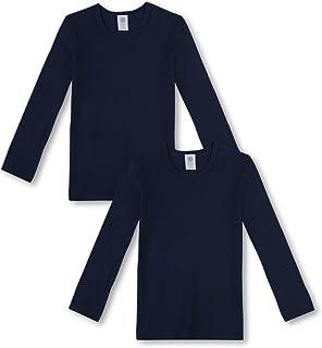 Sanetta - Camiseta de manga larga para niño (2 unidades, algodón orgánico)