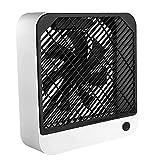Scrivania ventilatore da tavolo ventola silenziosa 1200mAh USB ricaricabile portatile Fan con vento forte per l'estate Camera Da Letto Studio stazionario