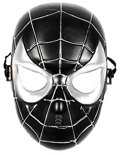 Inception Pro Infinite 5-8 Ans - Masque de Costume - déguisement - Carnaval - Halloween - Spiderman - Super héros - Spider Man - Noir - Enfants
