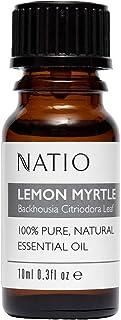 Natio Pure Essential Oil, Lemon Myrtle, 10ml