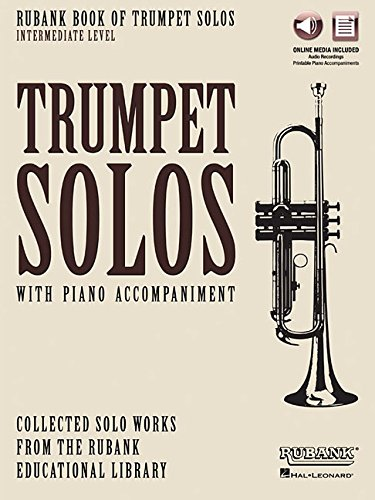 small Rubank Book of Trumpet Solos – Intermediate: Book with Online Audio (Streaming or Download)