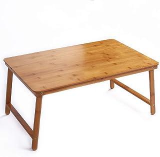 Tables HAIZHEN Pliable à Plateau avec Pieds pliants, Servant Le Petit-déjeuner au lit ou à Utiliser comme de télévision, P...