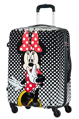 American Tourister Disney Legends - Spinner M Valigia per Bambini, M (65 cm - 62.5 L), Multicolore (Minnie Mouse Polka Dot)