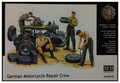Masterbox 3560 German Motorbike Repair 1:35 Plastic Kit