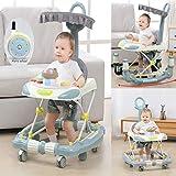 Gehfrei Lauflernhilfe Baby Ab 6 Monate, Baby Walker Mit Extra Hoher Rückenlehne Und Bequemen...