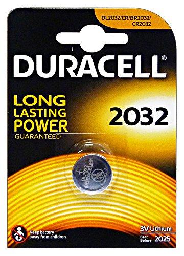 Duracell DUR033917 - Batería doméstica de Uso único CR2032 de Litio (Pila de Uso único, CR2032, Litio, 3 V, 1...