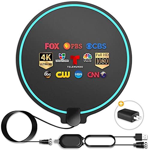 HD Digital TV Antenna Long Range 200 Miles Indoor Amplified Signal...